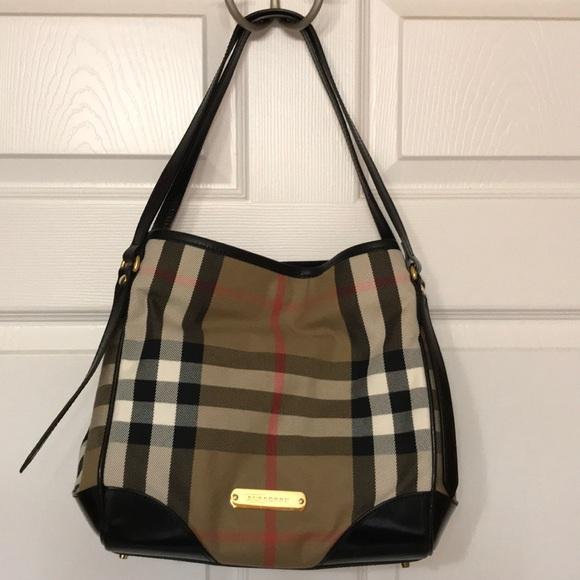 88341ca0f574 Burberry Handbags - Burberry Small Canter Horseferry Check Tote